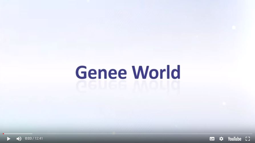 Genee world YouTube video