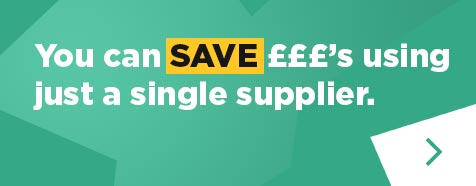 You can save using just a single supplier